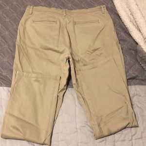 Khaki pants size 12 short